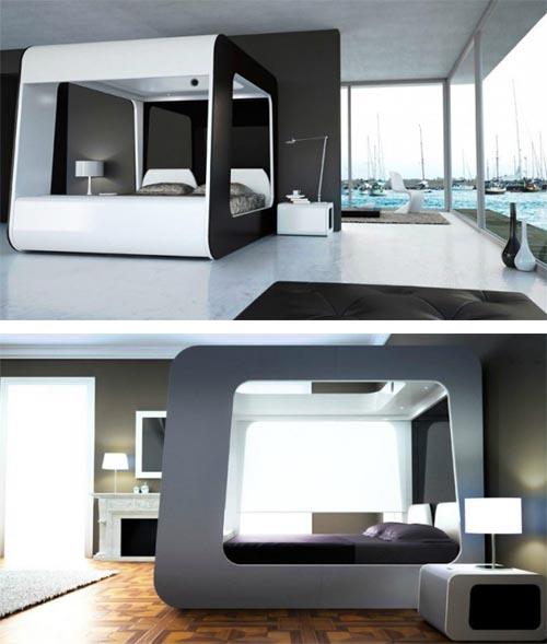 Luxury Hi-Tech Bed With Built In TV