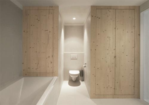 Luxury White Interior Design With Wood Panel By I29