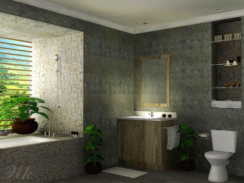 Natural bathroom design ideas modern bathroom design for Bathroom designs natural