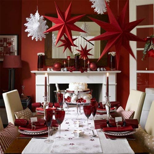 Christmas 2011 decoration ideas christmas dining room for Xmas table design