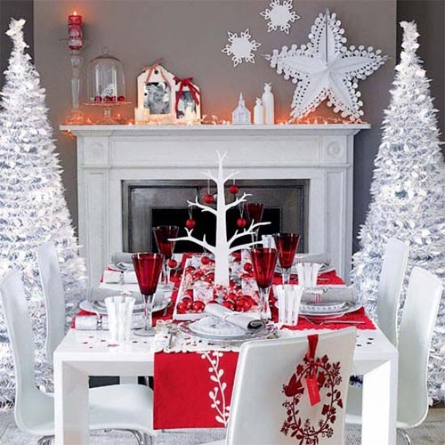 Christmas 2011 Decoration Ideas | Christmas Dining Room Design