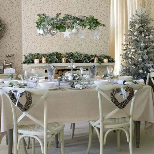 Christmas 2011 decoration ideas christmas dining room Dining room table christmas decorating ideas