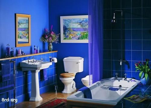 Beautify the Bathroom with Cool Color