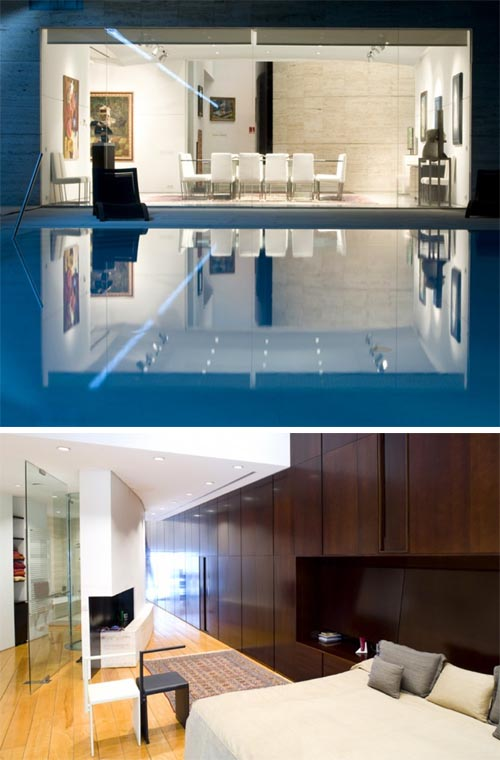Luxury Mansion In Madrid By A Cero Architects Interior Design - A-cero-architects-the-interior-of-an-office-in-madrid