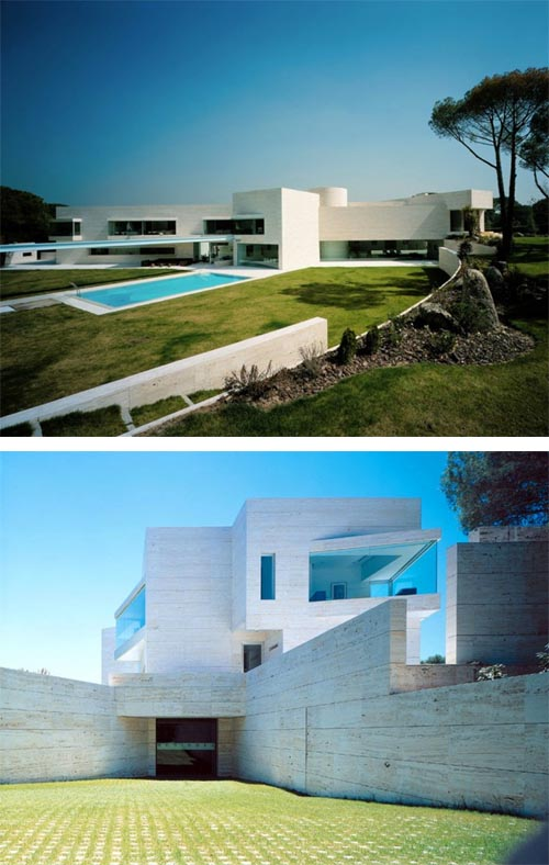 Luxury Mansion in Madrid by A-Cero Architects