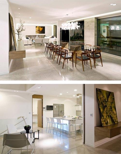 Casa luz modern three level nature friendly home in for Casa interior design