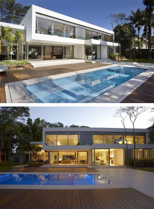 Modern Two Story Home | Interior Design|Architecture|Furniture ...