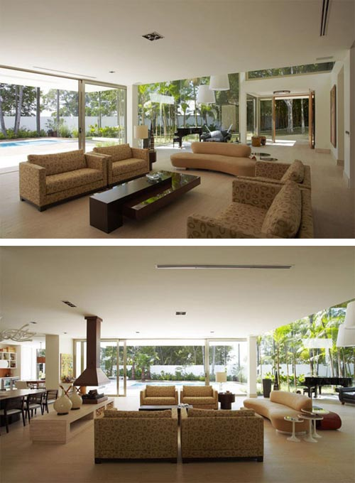 Modern Two Story Home with Heat Control in Brazil ...
