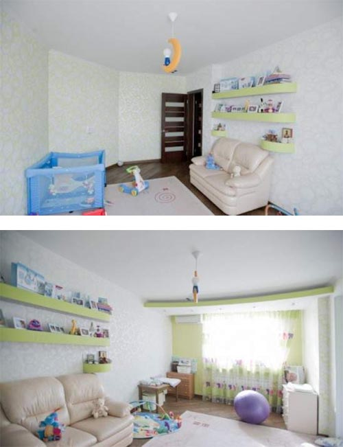 Young couple apartment kids room Young Couple Apartment Design, Stylish, Modern and Dynamic Apartment