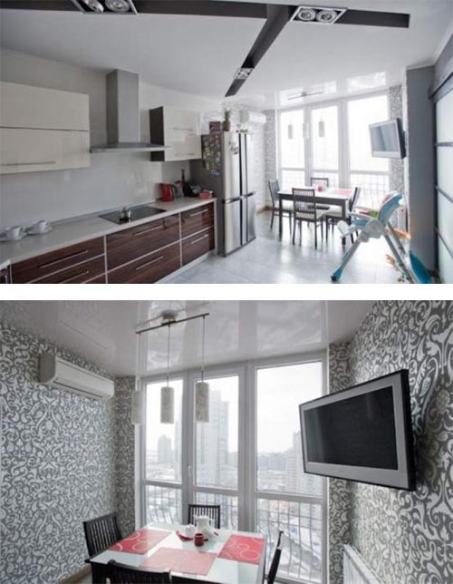 Young couple apartment kitchen dining room Young Couple Apartment Design, Stylish, Modern and Dynamic Apartment