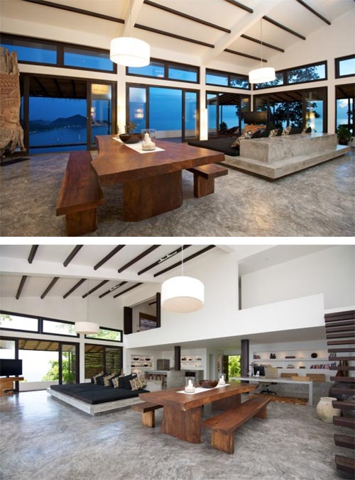 luxury beach bungalow with luxury interior design by australian
