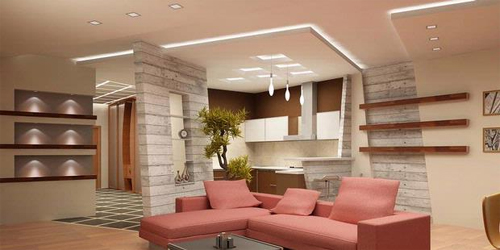 Beautiful Living Room Gypsum Ceiling Beautify Ceiling With Gypsum Decorative Will More Interesting