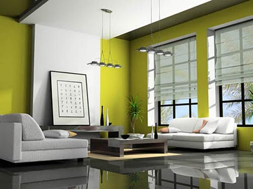 Green Friendly Living Room Proper Furniture Selection Can Strengthening Friendly Impression in Living Room
