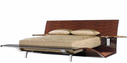 Art Deco Bed by Brad Pitt Luxury Furniture Work of Brad Pitt Will Be Launched Soon
