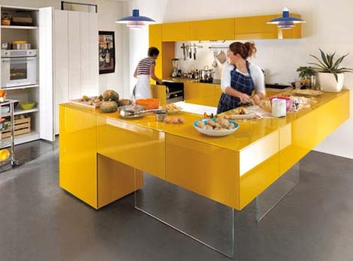 Modern Orange Kitchen Modern Orange Kitchen Design of My Dreams