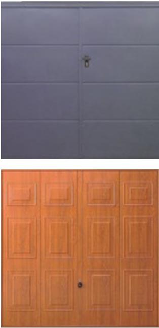 Garage doors - Styles and profiles