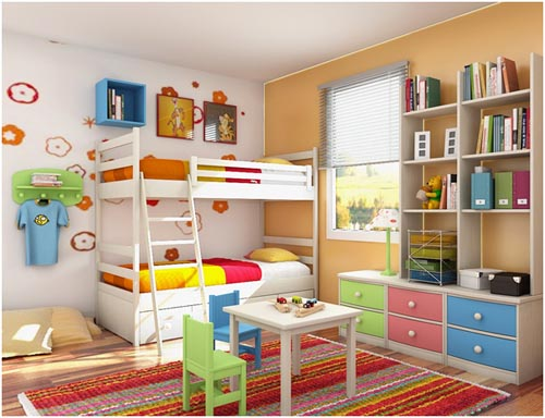 How to Have a Wonderful Kids' Bedroom