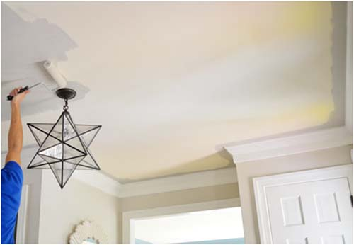 Remove Your Damaged Popcorn Ceiling And Get A Smooth Surface